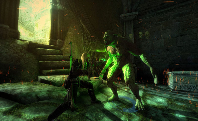 Cкачать Ведьмак. . Дополненное издание / Witcher: Enhanced Edition, The (M